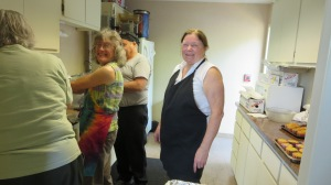 The Cooks! Debbie of Dino's Catering took great care of us.