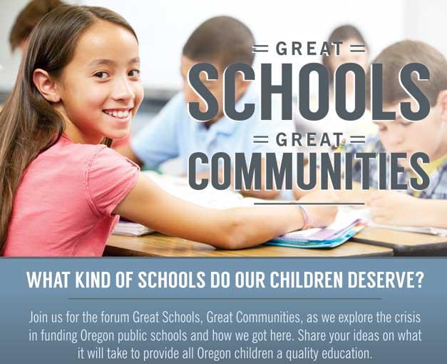 Great Schools, GreatCommunities
