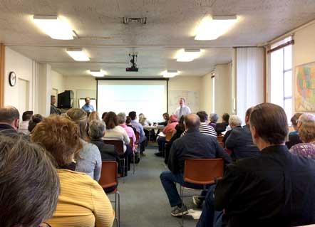 Public Health Meeting InRoseburg